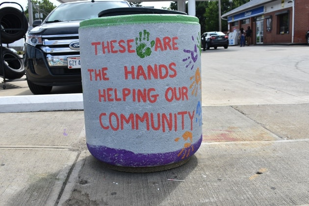 """""""The hands helping our community"""""""